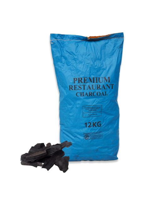 Lumpwood Restaurant Grade Charcoal 12kg with spill