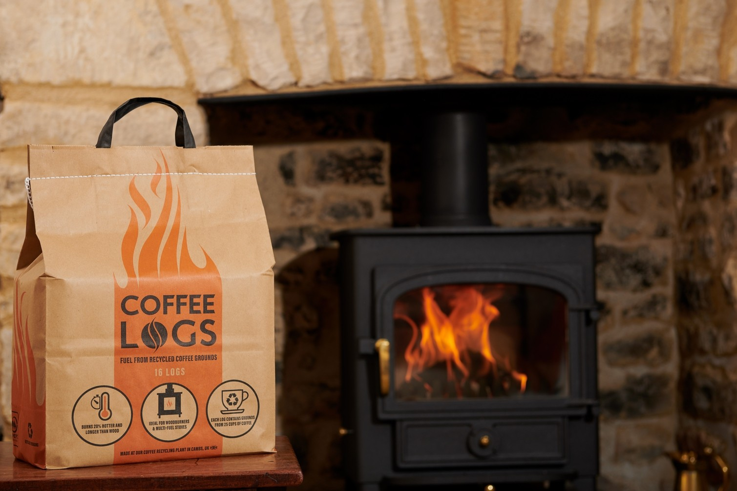 Bio Bean Coffee Logs At The Best Prices In The Uk