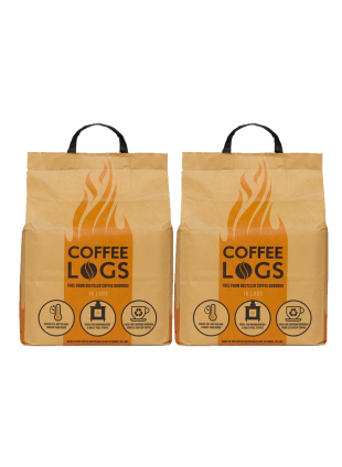 coffee logs - 2 bags with delivery