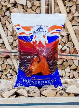 Wood Pellet Horse Bedding