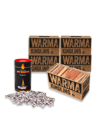 Kindling and Burner Firestarter Deal