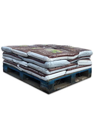 Double screened top soil pallet 20