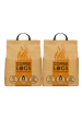 2 bags of Coffee Logs with delivery included