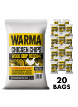 Hardwood Chips for your Chickens 20 bag deal