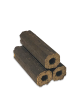 Pini-Kay Wood Fuel Briquettes 12pc Heat Logs for Stoves, Fireplaces, Pizza Ovens, Barbecues