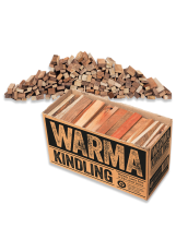 Large Kindling box with contents