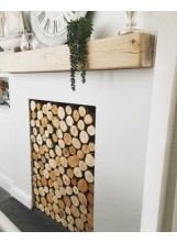 Decorative logs