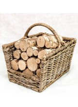 Whole round decorative birch (basket sold seperatly)