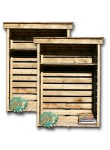 Logs Direct double woodstore
