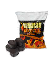 Woodcoal bag with spill