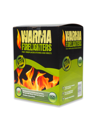 Wood Wool Eco Firelighters - 1box