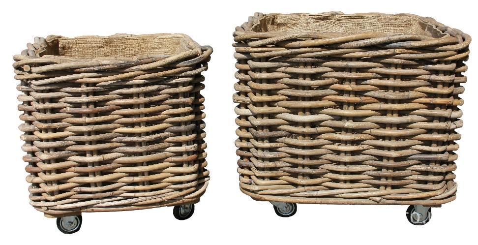 keep your fireside tidy with a square log basket. Black Bedroom Furniture Sets. Home Design Ideas