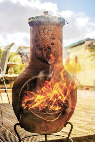 Chimineas A Charming Energy Efficient Outdoor Heating