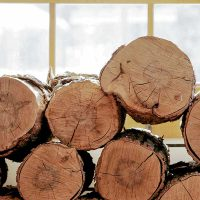 High-density hardwoods, such as alder and oak logs, burn hotter and more intensely, which make them the best choice for freezing winter months
