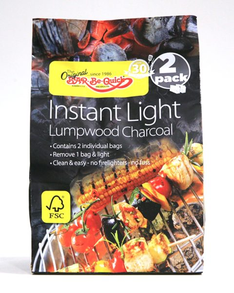 Instant Light Lumpwood Charcoal