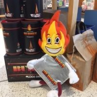Bright Spark Burnie is On a Firework Safety Mission!